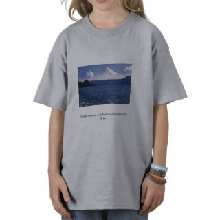 Osorno volcano and Todo Los Santos lake, Chile Tshirt