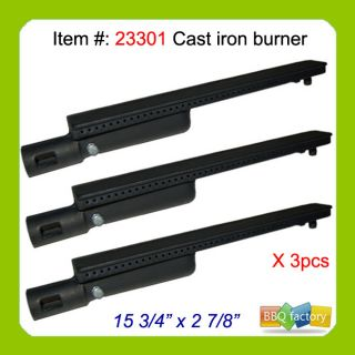 Jenn Air Aftermarket Replacement Gas Grill Cast Iron Burner 23301