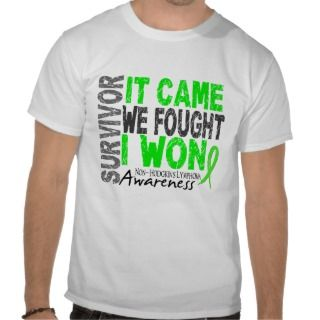 Non Hodgkins Lymphoma Survivor It Came We Fought Tees