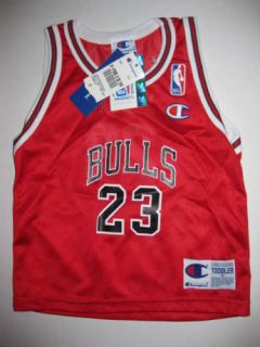 Michael Jordan 23 Chicago Bulls Jersey Toddler 4T New