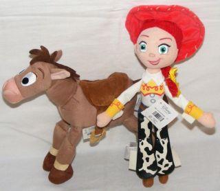 Toy Story Jessie Bullseye Doll Lot Soft Plush Figures 11