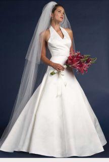 Jessica McClintock Beige Wedding Dress Gown Size 12