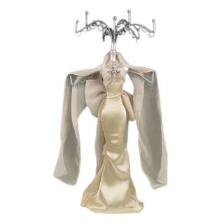 Shabby Mannequin Jewellery Stand / Tree Display Necklace Holder Lady