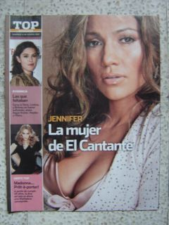 JENNIFER LOPEZ MADONNA HILARY DUFF SCORPIONS DIEGO LUNA MEXICO TOP