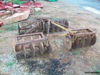 Taylor Way 7 Drag Disc Plow Cultivator
