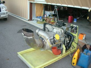 GTC 85 Gas Turbine Engine Ground Power Unit Jet Engine