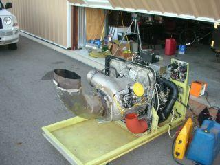 GTC 85 Gas Turbine Engine Ground Power Unit Jet Engine