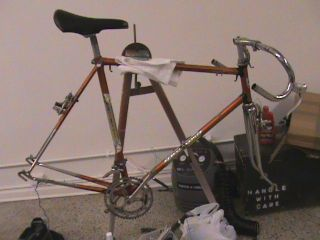 jeunet road touring France bike bicycle Peugeot Raleigh Compte Franche