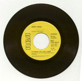 Jerry Reed A Thing Called Love Hallelujah I Love Her So 1968 RCA Promo
