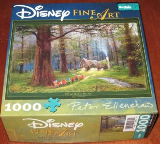 Disney Fine Art Seven Dwarfs Jigsaw Puzzle Home We Go