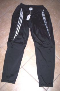 Jeremy Scott Adidas Stripe Origami Black Track Pants M Free Shipping