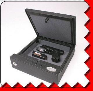 Electronic Lock Box Jewelry Hand Gun Drawer Vault Safe