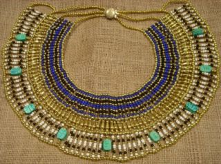 Ancient Egyptian Necklace Cleopatra Scarab Jewelry