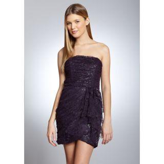 Jill Stuart Lace Layered Strapless Dress