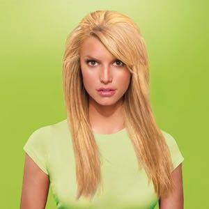Jessica Simpson Hair do 25 Layered Straight Clip on Hair Extension