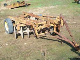 Taylor Way 7 1 2 Off Set Wheel Disc Plow Cultivator