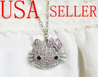 GB Cute Jewelry Hello Kitty Pendant USB Flash Drive Memory