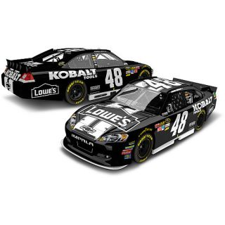 Jimmie Johnson 2012 Black #48 KOBALT signd 1/24 die cast car Hot NEW