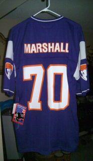 VINTAGE JIM MARSHALL MINNESOTA VIKINGS NFL JERSEY #70   SIZE 2XL  NWT