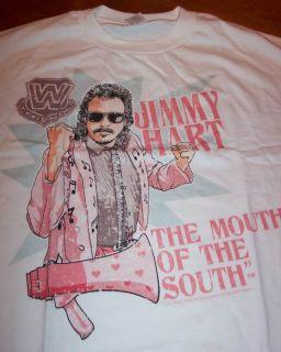 WWF Legends Jimmy Hart Wrestling T Shirt Small New