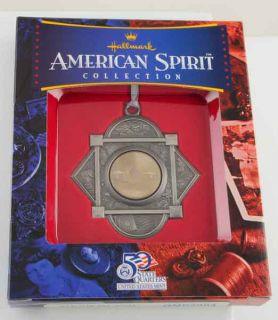 Sterling EP American Spirit Xmas Tree Ornament Rhode Island