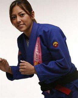 Dragao Hana Womens Gi Blue Dragao bjj Jiu Jitsu