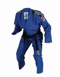Gi Blue Brazilian Jiu Jitsu Uniform Ultra Light Summer Weight