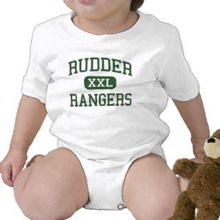 Rudder   Rangers   High School   Bryan Texas Baby Bodysuit