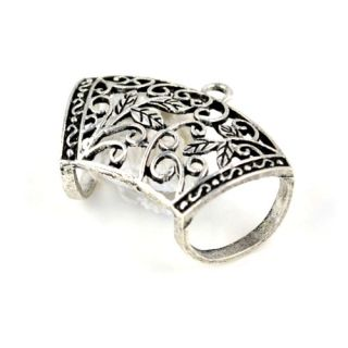 Hollow Out Jewelry Scarf Bails Antique Silver DIY Jewelry PT509