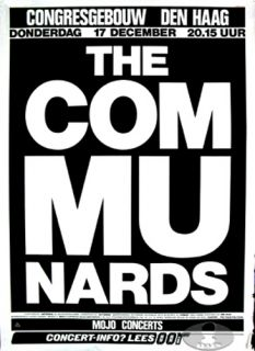 Communards 1987 Tour Concert Poster Jimmy Somerville