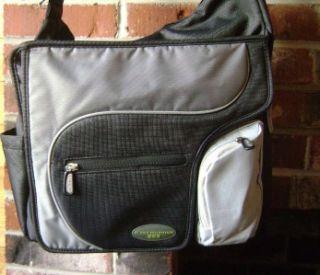 JJ Cole Collections Method Diaper Bag Black Gray