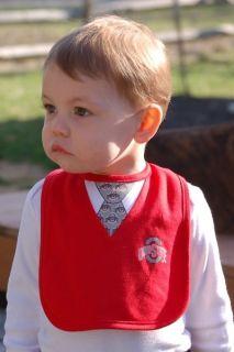 Ohio State OSU Jim Tressel Sweater Vest Baby Bib