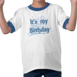 Its my birthday boys T Shirt