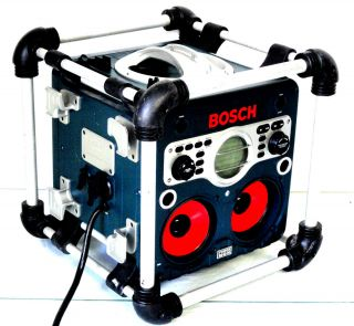 Bosch PB10 CD PowerBox Job Site Radio & CD Player Stereo Parts Not