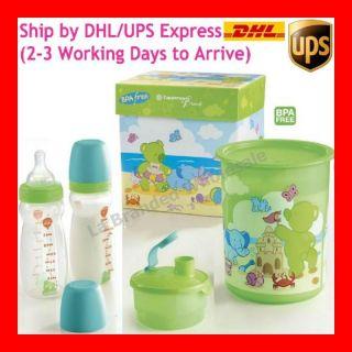 PROMO TUPPERWARE Baby Bottle Feeding Set, BPA FREE + FREE EXPRESS