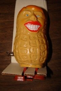 Jimmy Carter The Walking Peanut Toy Vintage New in Box Box Damaged