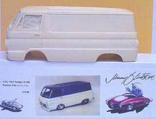Jimmy Flintstone NB24 67 Dodge A 100 Panel Van