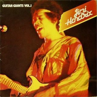 Jimi Hendrix Guitar Giants Vol 1 Benelux Import X2 LP