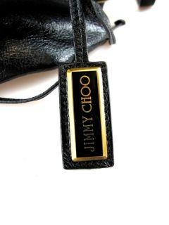 Jimmy Choo at Socialite Auctions Ret $1375 Black Dessy Oversized Bag