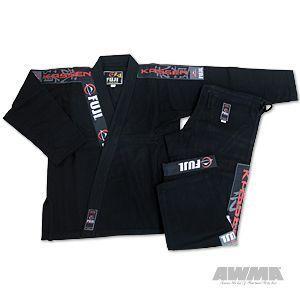 Fuji bjj Kassen Jiu Jitsu Uniform Gi Martial Arts Black