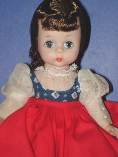 Alexander BKW Little Women Jo Doll c1963 Minty