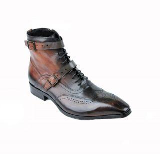 Jo Ghost Boot 1901 Inglese Nuvolato Ruggine Brown Mens 43 10