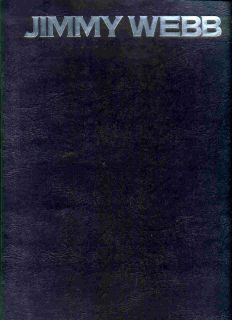 JIMMY WEBB Jim songbook 27 HITS sheet music Song book 1975 Glen