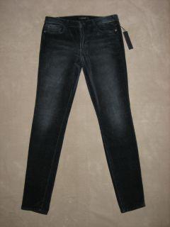 Joes Jeans Malone Velvet Skinny Jeans Dark Blue