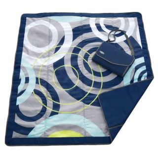 JJ Cole Travel All Purpose Baby Blanket Portable Folds Into Bag Fast