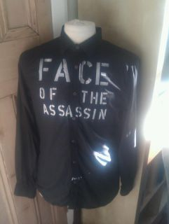 Clash Joe Strummer Face of The Assassin Repro Shirt Seditionaries Punk