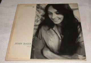 Joan Baez Vol 2 Vanguard VRS 9094 LP Vinyl Record