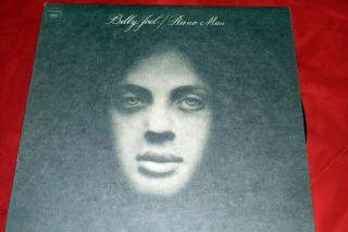 Billy Joel Piano Man LP Record Vinyl ©1973 Columbia Rock