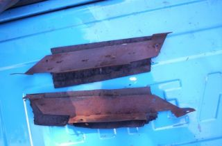 72 Chevy GMC pickup Blazer Jimmy custom front door jam seal brackets
