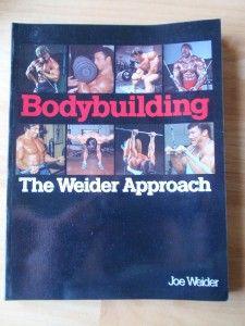 Approach Muscle Workout Exercise Book Joe Weider 0809259087